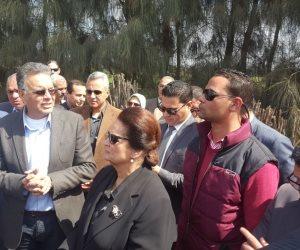 وزير النقل يشدد من البحيرة على إنشاء نفق سكة حديد بكوم حمادة لمواجهة الحوادث