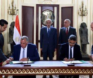 """بالصور : """"مصر لتأمينات الحياه"""" توقع علي شهادة """"أمان المصريين"""" مع البنوك اﻷربعة .."""