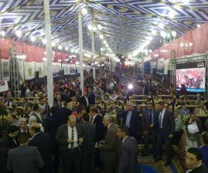 """""""كلنا معاك من أجل مصر"""" تستعرض انجازات السيسي في مؤتمر لدعمه بالعمرانية"""