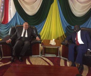 سامح شكري يصل جنوب السودان في مستهل جولته الإفريقية