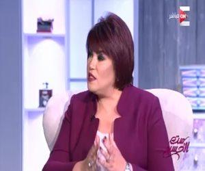 """معتزة مهابة لـ""""ست الحسن"""": المرأة المصرية كان لها الفضل فى إنقاذ مصر"""