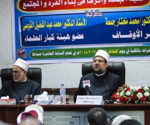 وزير الأوقاف: لن نسمح للمتطرفين بالوقوف على منابرنا والعبث بعقول أبنائنا (صور)