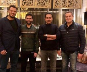 أول صورة للاعب أحمد فتحي بعد تجديد عقده مع النادي الأهلي