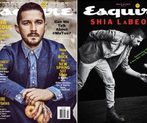"""أناقة وشياكة """"شيا لابوف"""" على غلاف مجلة Esquire (صور وفيديو)"""