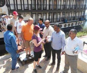 وصول 127 سائحا لزيارة المعالم الأثرية بمحافظة سوهاج (صور)