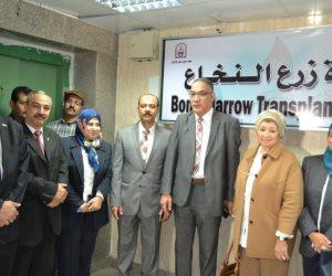 بنك مصر: 20 مليون جنيه لصالح تطوير غرف العمليات بمعهد جنوب مصر للأورام