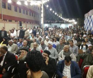 بدء مؤتمر للنائب أحمد الفرشوطي في الأقصر لدعم الرئيس السيسي  (صور)
