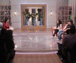 محمد ثروت يكشف أسرار خطاب زوجته الشهير في معكم منى الشاذلي (صور)