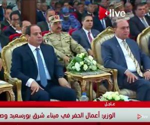 مهاب مميش: ميناء شرق بورسعيد عاملا حاسما في دفع عجلة الاقتصاد القومي