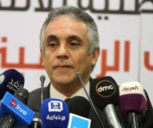 رئيس الهيئة الوطنية للانتخابات يجوز التصويت ببطاقة الرقم القومى المنتهية