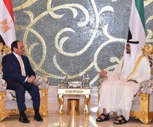 الوكالة الإماراتية: قمة السيسي وبن زايد جسدت التنسيق المتواصل لخدمة العرب
