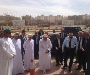 جولة لوزير إسكان سلطنة عمان بالعاصمة الإدارية الجديدة (صور)
