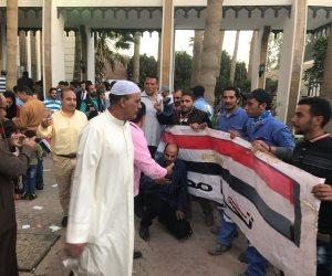 اليوم.. سلسلة بشرية لدعم الرئيس السيسي بالغردقة