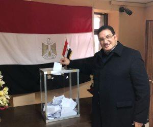 مصر تنتخب الرئيس.. وفد رجال الأعمال المصرية المغربية يدلي بصوته بالسفارة في الرباط