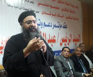 رئيس بيت العائلة بكفر الشيخ: طوابير المصريون في الانتخابات ترد على المتشككين