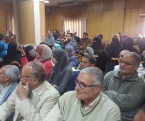 مؤتمر جماهيري حاشد بالبحوث الزراعية في كفر الشيخ لتأييد الرئيس السيسي (صور)