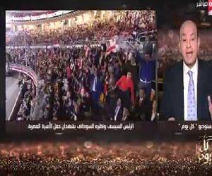 عمرو أديب : «المصالح» كلمة السر فى المصالحة المصرية السودانية