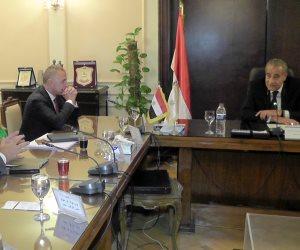 وزير التموين يستعرض الفرص الاستثمارية لإقامة المناطق اللوجستية