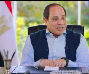 """السيسي يخاطب المصريين في """"شعب ورئيس"""" الليلة على القنوات المصرية"""