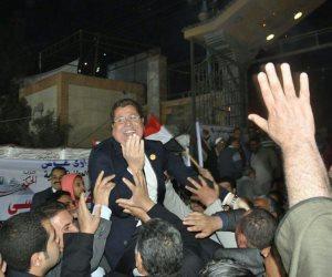 مؤتمر حاشد لحزب الحركة الوطنية لدعم السيسى (صور)