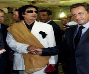 هل تورط ساركوزي في مقتل القذافي؟ شاهد عيان يفضح الرئيس الفرنسي السابق