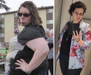 اعتمدت علي حساب السعرات الحرارية.. امرأة تزن 170 كجم تفقد 96 من وزنها الزائد بالقلم والورقة
