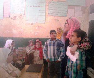 تمريض سوهاج تنظم قافلة توعوية لقرية أبار الملك (صور)