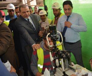 وزير القوى العاملة يعلن تسجيل 600 ألف عامل غير منتظم خلال زيارته للعاصمة الإدارية الجديدة (صور)