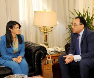 مدبولي والمشاط يناقشان المشروعات السياحية والتنموية في استراتيجية تنمية سيناء
