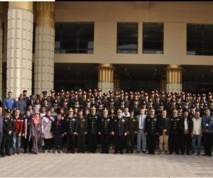 لقاء مد جسور الترابط والتلاحم: طلاب جامعات مصر في ضيافة أكاديمية الشرطة (صور)