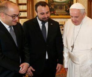 بابا الفاتيكان يستقبل حاكمي جمهورية سان مارينو