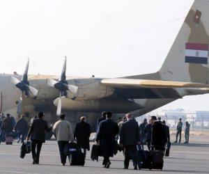 طائرات القوات المسلحة تنقل القضاة المشرفين على الانتخابات الرئاسية للمناطق النائية