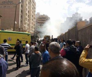 انفجار الإسكندرية.. محاولة اغتيال مدير الأمن واستشهاد رقيب وإصابة 4 أخرين (صور)