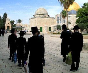"""جماعات الهيكل تبدأ استعداداتها لـ """"تدريب قرابين الفصح """" عند المسجد الأقصى"""