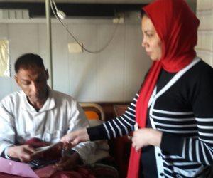 صرف إعانات التضامن لمصابين من المدنيين في حادث الإسكندرية