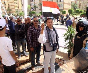 بعد 5 ساعات من اليوم الأول في الانتخابات الرئاسية.. المصريون في الشوراع وكبار رجال الدولة في الطوابير (صور)