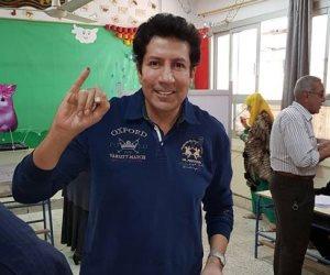 هانى رمزى يشارك فى انتخابات الرئاسة (صورة)