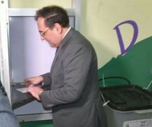 وزير البترول: المشاركة الإيجابية في الانتخابات الرئاسية تؤكد وعي المصريين (صور)