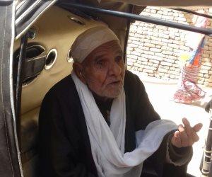 ناخب عمره 92 عامًا في سرس الليان: دمى فداءً لمصر.. والسيسي يستحق دعم الشعب