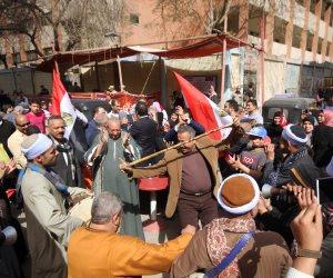 أمين القبائل العربية بمستقبل وطن: الإقبال في أول أيام الانتخابات كبير جدًا