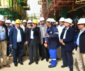 كيف تحفز وزارة البترول العاملين فى حقل ظهر للتنفيذ وفق البرنامج الزمنى؟