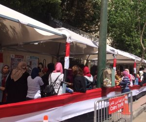 نائب منشأة القناطر: صوتى لصالح السيسى لاستكمال مسيرة التنمية