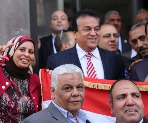 إعداد القادة بحلوان يعلن توحيد الاحتفال بعيد سيناء بكل الجامعات