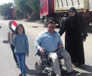 حضور لافت لكبار السن وذوي الاحتياجات الخاصة بانتخابات الرئاسة في شمال سيناء (صور)