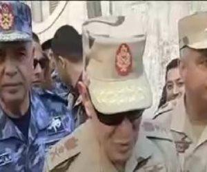 رئيس الأركان يتفقد إحدى لجان الانتخابات الرئاسية بالإسكندرية