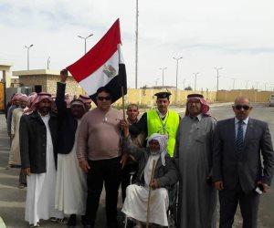 قبائل مركز نخل بوسط سيناء تواصل مشاركتها بقوة في انتخابات الرئاسة (صور)