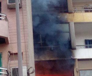 مصرع سيدة و إصابة نجلتها في حريق داخل شقة سكنية فى اﻷميرية