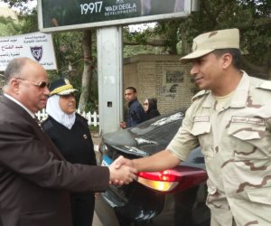 مدير أمن القاهرة يتفقد المقار الانتخابية.. ويؤكد على استمرار الخدمات الأمنية