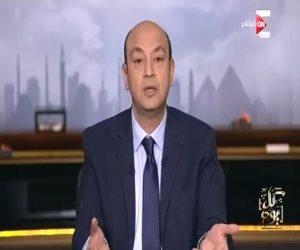 """عمرو أديب بـ""""ON E"""": المصريون يتحدّون الطقس بطوابير الانتخابات"""