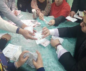 نتائج أولية لانتخابات الرئاسة 2018.. 3 لجان عامة بالإسماعيلية: السيسي 95 ألفا وموسي 3948